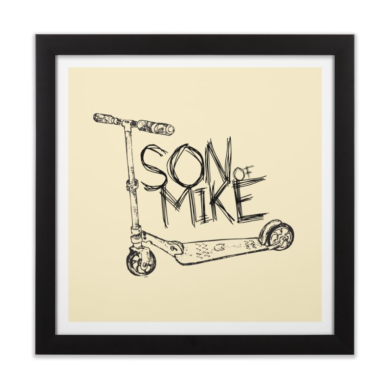 "Son of Mike ""Scooter"" Home Framed Fine Art Print by Turkeylegsray's Artist Shop"