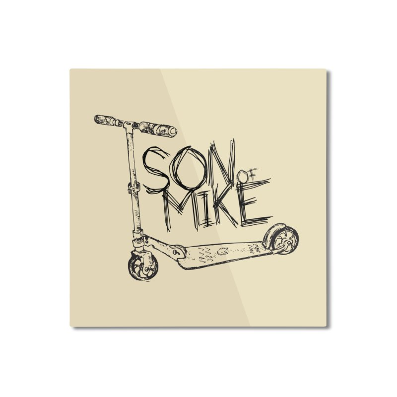 """Son of Mike """"Scooter"""" Home Mounted Aluminum Print by Turkeylegsray's Artist Shop"""