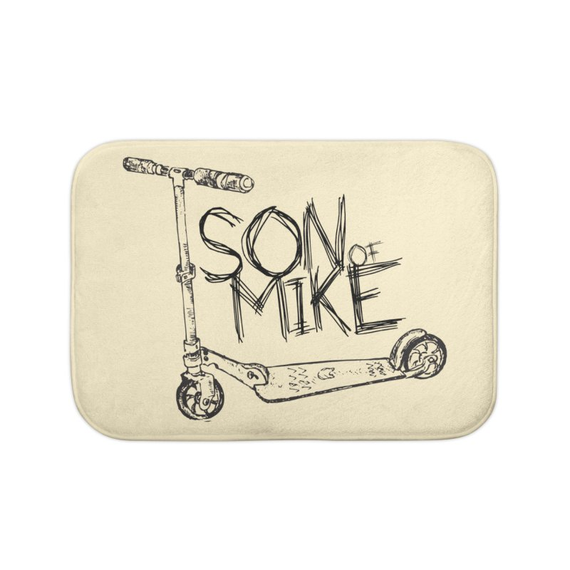 "Son of Mike ""Scooter"" Home Bath Mat by Turkeylegsray's Artist Shop"
