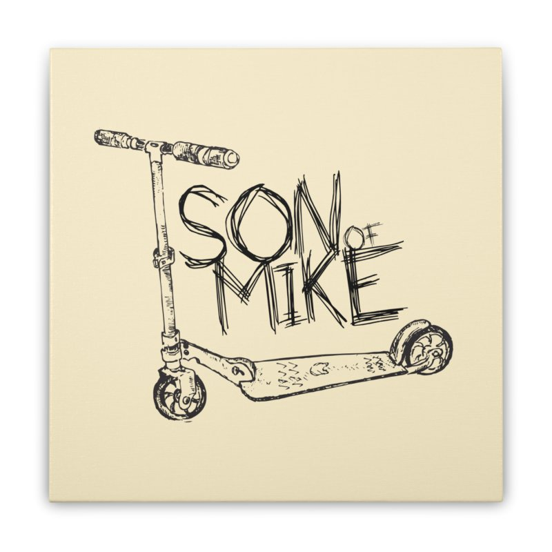 """Son of Mike """"Scooter"""" Home Stretched Canvas by Turkeylegsray's Artist Shop"""