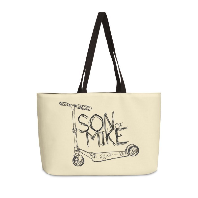 "Son of Mike ""Scooter"" Accessories Weekender Bag Bag by Turkeylegsray's Artist Shop"