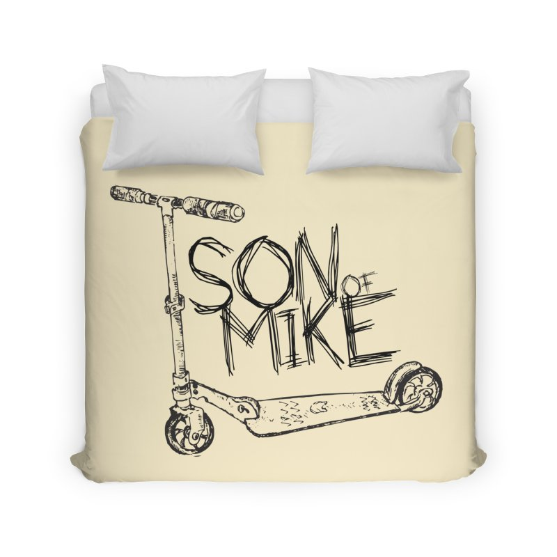 "Son of Mike ""Scooter"" Home Duvet by Turkeylegsray's Artist Shop"