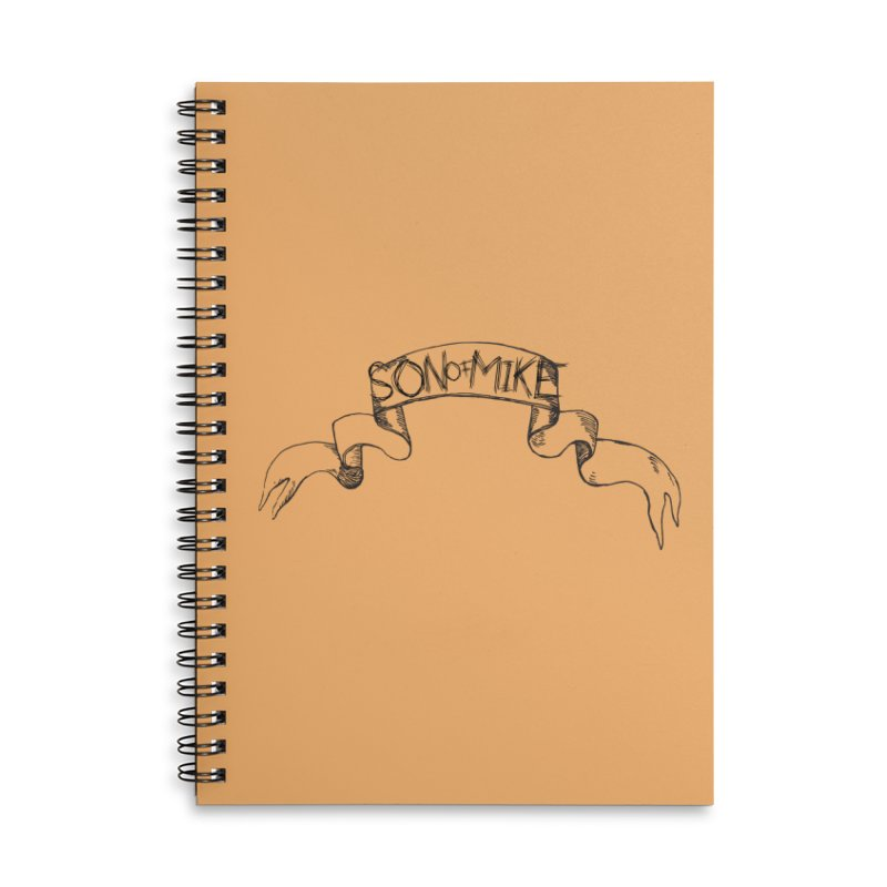 """Son of Mike """"Banner"""" Accessories Lined Spiral Notebook by Turkeylegsray's Artist Shop"""