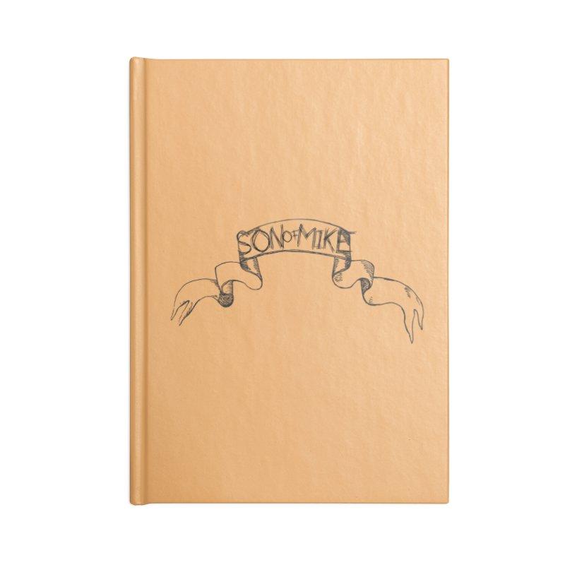 "Son of Mike ""Banner"" Accessories Blank Journal Notebook by Turkeylegsray's Artist Shop"
