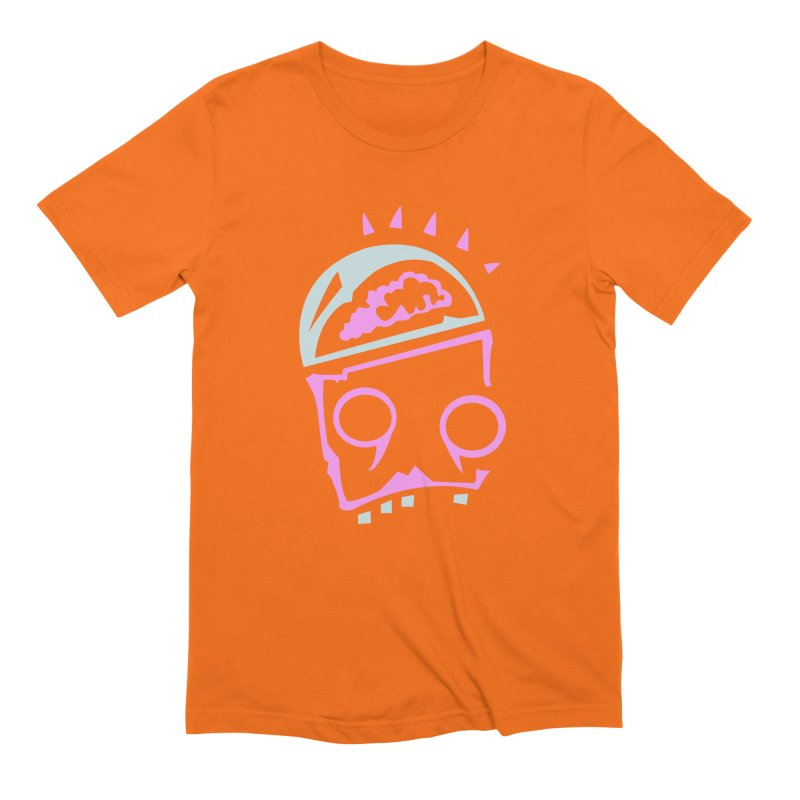 Robot Brain Men's Extra Soft T-Shirt by Turkeylegsray's Artist Shop