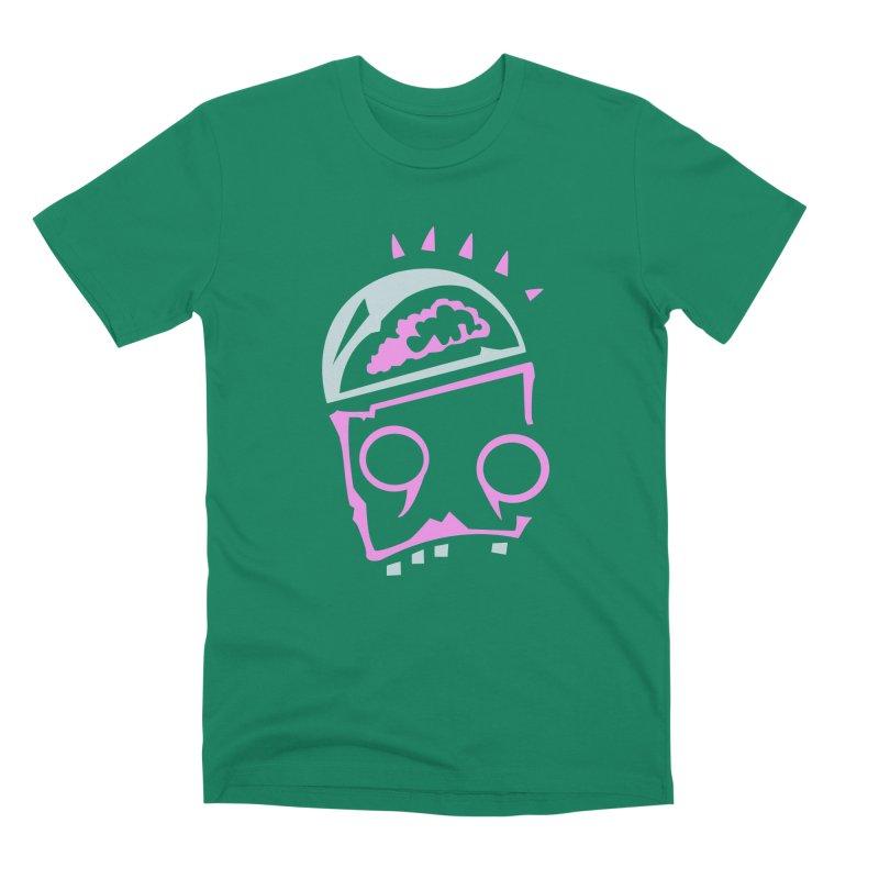 Robot Brain Men's Premium T-Shirt by Turkeylegsray's Artist Shop