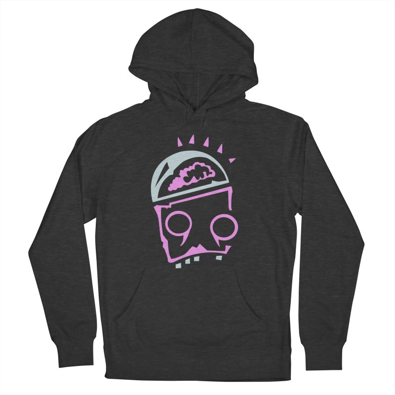 Robot Brain Men's French Terry Pullover Hoody by Turkeylegsray's Artist Shop
