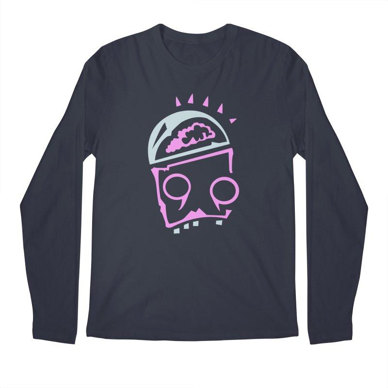 Robot Brain Men's Regular Longsleeve T-Shirt by Turkeylegsray's Artist Shop