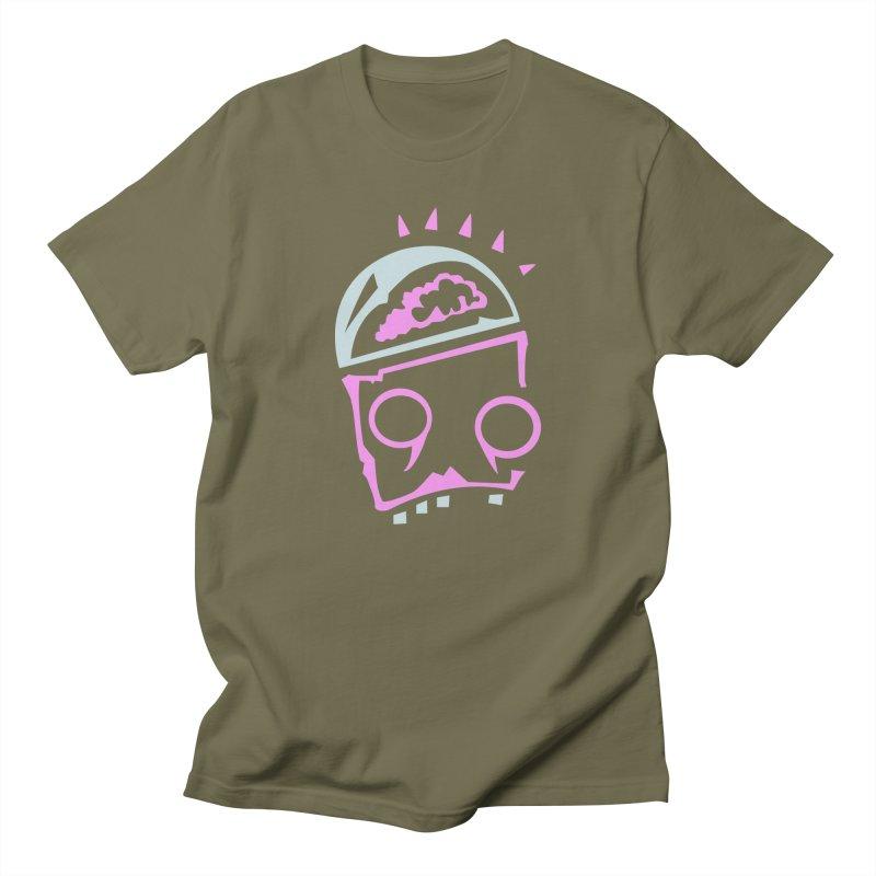 Robot Brain Women's Regular Unisex T-Shirt by Turkeylegsray's Artist Shop