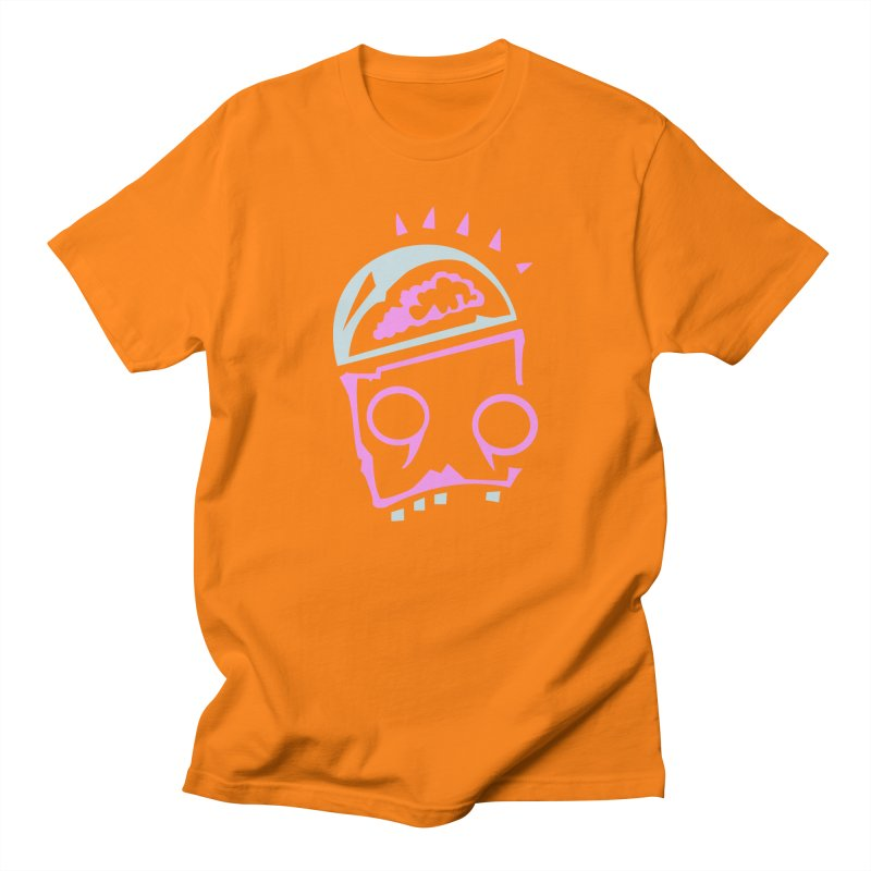 Robot Brain Men's Regular T-Shirt by Turkeylegsray's Artist Shop