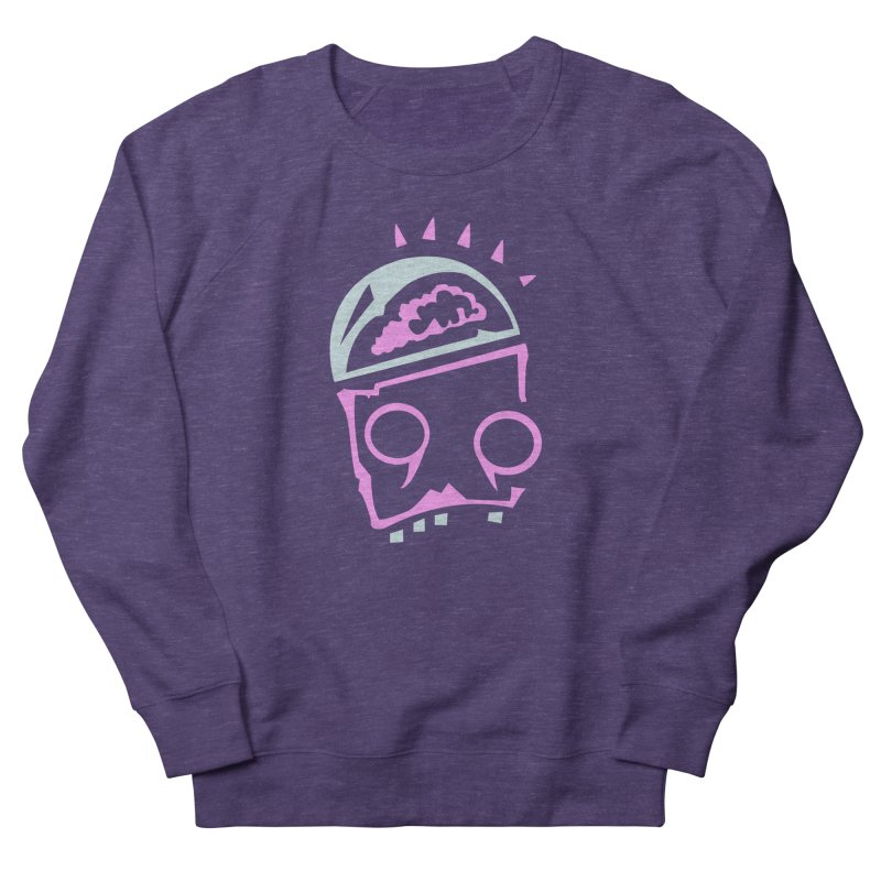Robot Brain Women's French Terry Sweatshirt by Turkeylegsray's Artist Shop