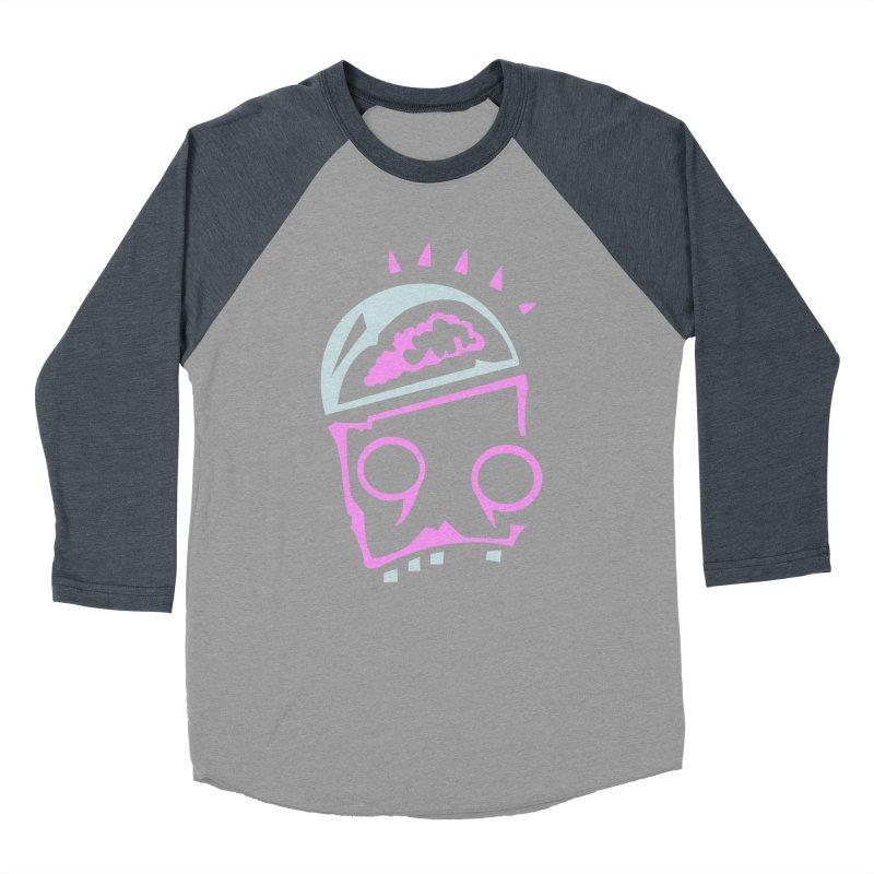 Robot Brain Women's Baseball Triblend Longsleeve T-Shirt by Turkeylegsray's Artist Shop