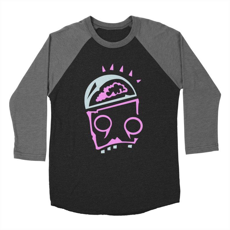 Robot Brain Men's Baseball Triblend Longsleeve T-Shirt by Turkeylegsray's Artist Shop