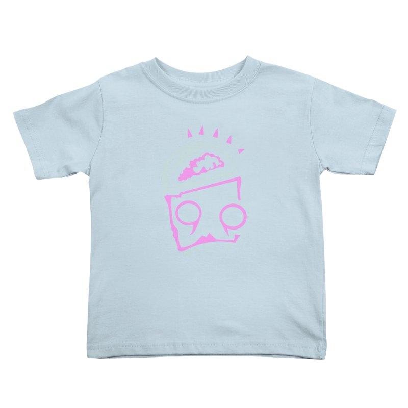 Robot Brain Kids Toddler T-Shirt by Turkeylegsray's Artist Shop