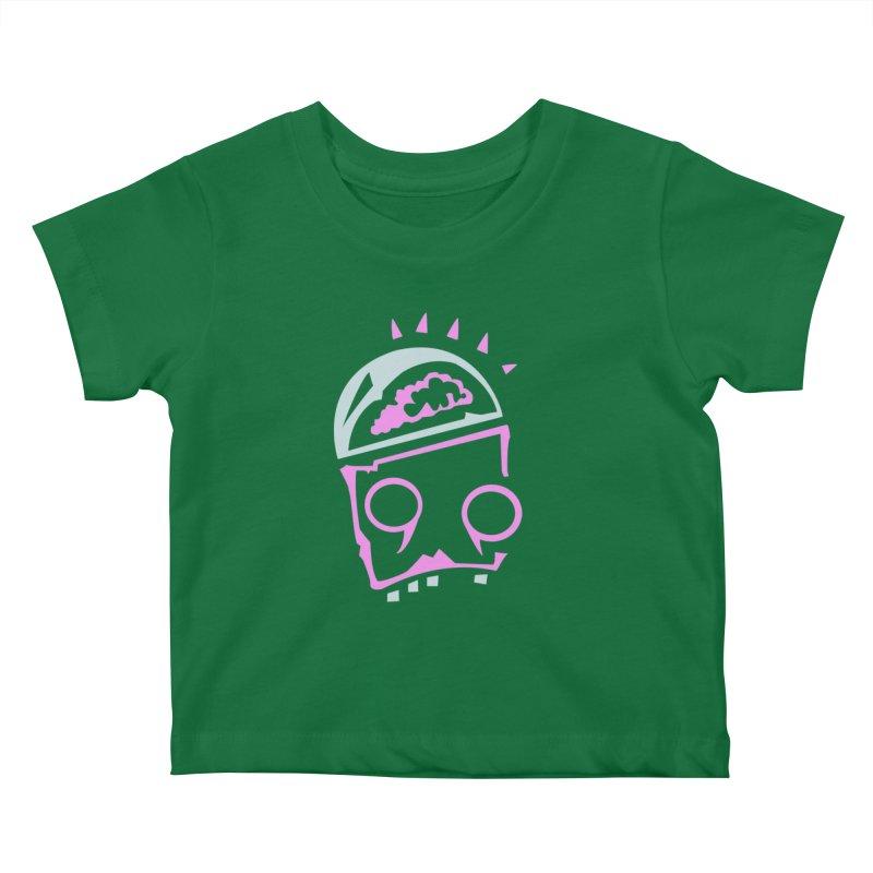 Robot Brain Kids Baby T-Shirt by Turkeylegsray's Artist Shop