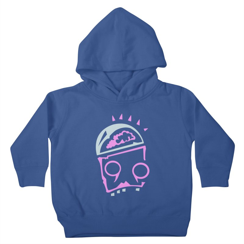 Robot Brain Kids Toddler Pullover Hoody by Turkeylegsray's Artist Shop