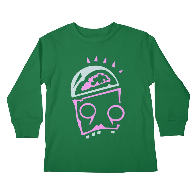 Robot Brain Kids Longsleeve T-Shirt by Turkeylegsray's Artist Shop