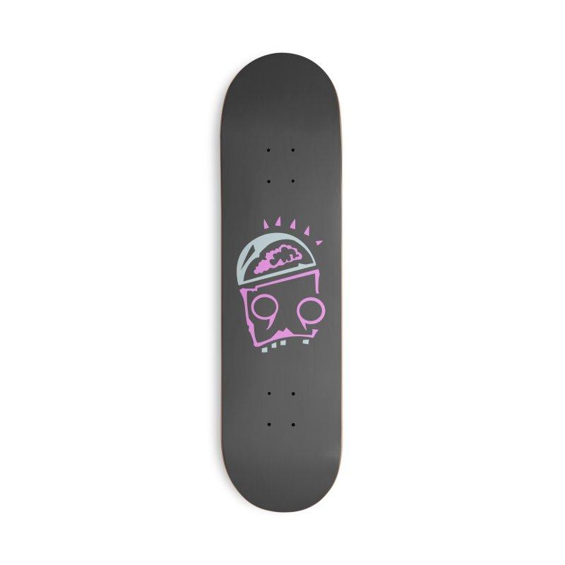 Robot Brain Accessories Deck Only Skateboard by Turkeylegsray's Artist Shop