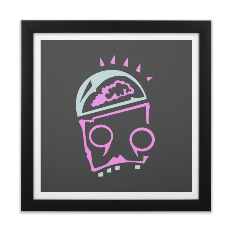 Robot Brain Home Framed Fine Art Print by Turkeylegsray's Artist Shop