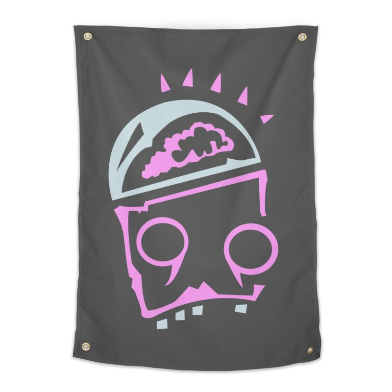 Robot Brain Home Tapestry by Turkeylegsray's Artist Shop