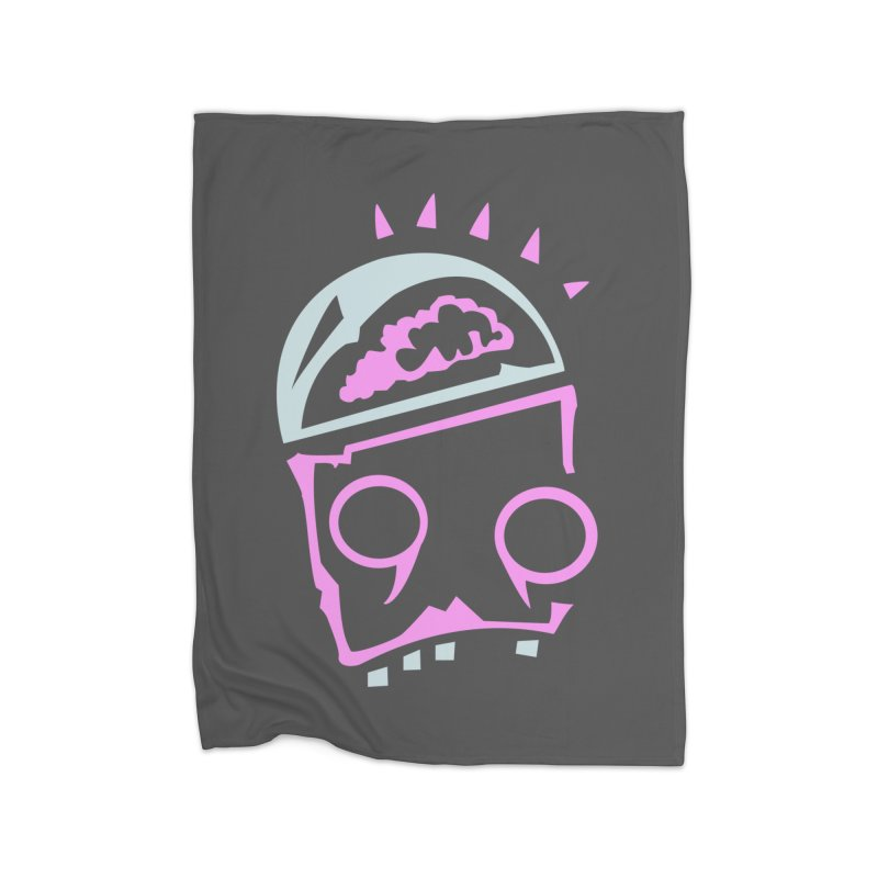 Robot Brain Home Fleece Blanket Blanket by Turkeylegsray's Artist Shop