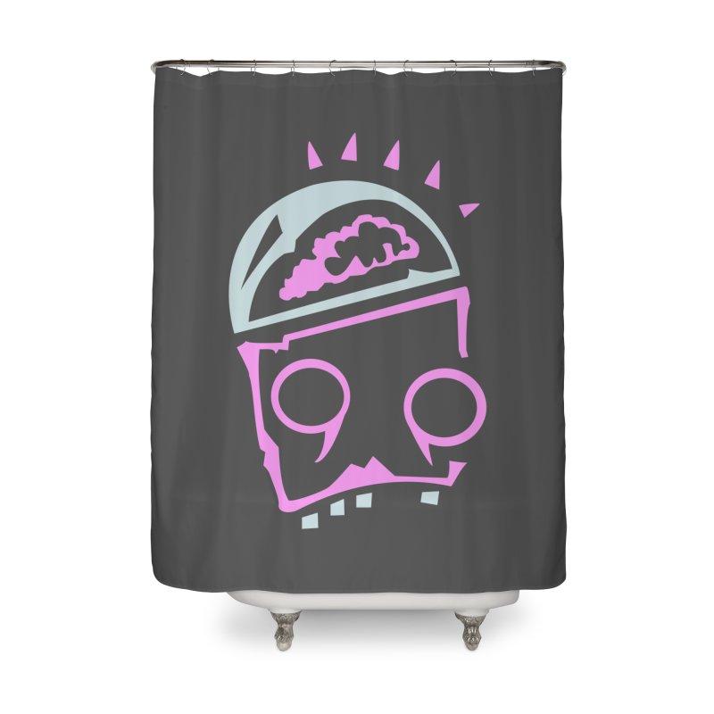 Robot Brain Home Shower Curtain by Turkeylegsray's Artist Shop