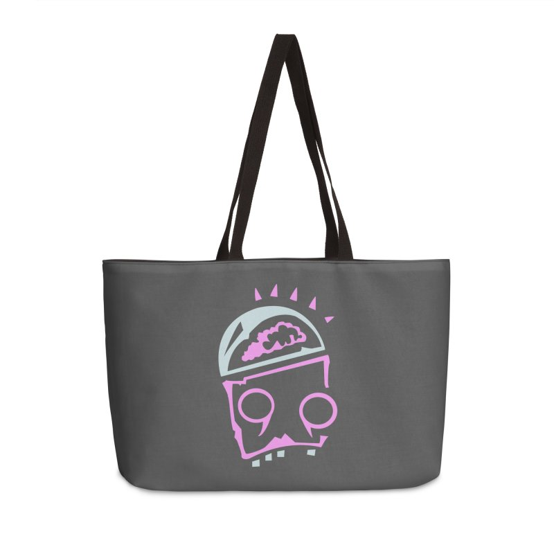 Robot Brain Accessories Weekender Bag Bag by Turkeylegsray's Artist Shop
