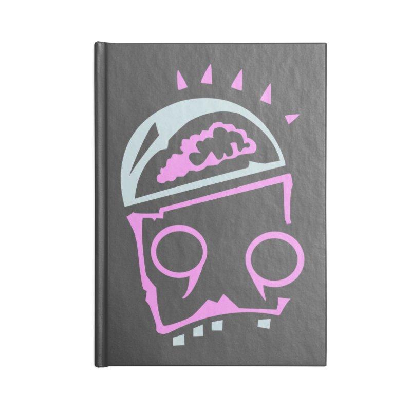 Robot Brain Accessories Blank Journal Notebook by Turkeylegsray's Artist Shop