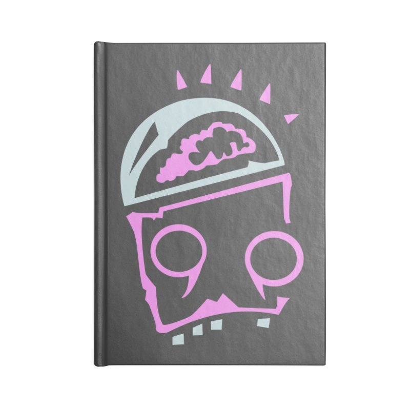 Robot Brain Accessories Lined Journal Notebook by Turkeylegsray's Artist Shop