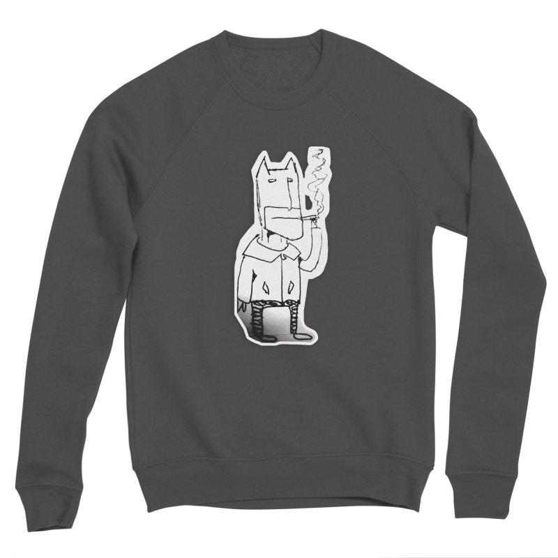 Batman Smoking Men's Sponge Fleece Sweatshirt by Turkeylegsray's Artist Shop