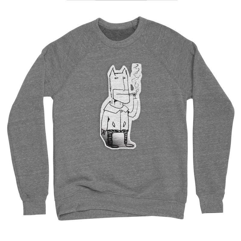 Batman Smoking Women's Sponge Fleece Sweatshirt by Turkeylegsray's Artist Shop
