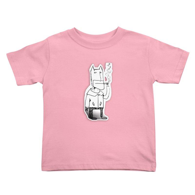 Batman Smoking Kids Toddler T-Shirt by Turkeylegsray's Artist Shop
