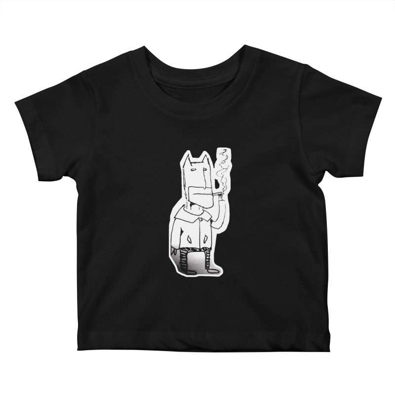 Batman Smoking Kids Baby T-Shirt by Turkeylegsray's Artist Shop