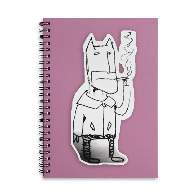 Batman Smoking Accessories Lined Spiral Notebook by Turkeylegsray's Artist Shop