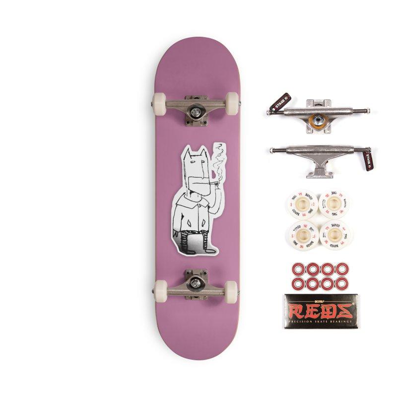 Batman Smoking Accessories Complete - Pro Skateboard by Turkeylegsray's Artist Shop