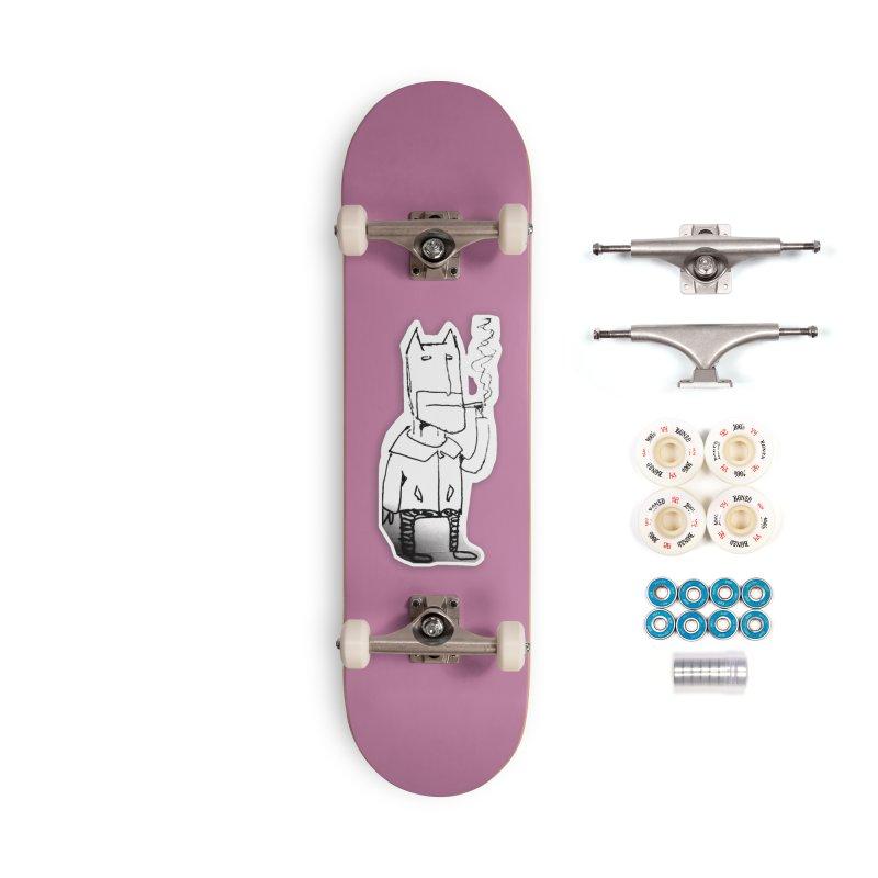 Batman Smoking Accessories Complete - Premium Skateboard by Turkeylegsray's Artist Shop