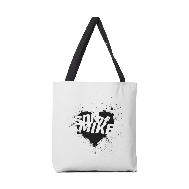 "Son of Mike ""HEART"" Accessories Tote Bag Bag by Turkeylegsray's Artist Shop"