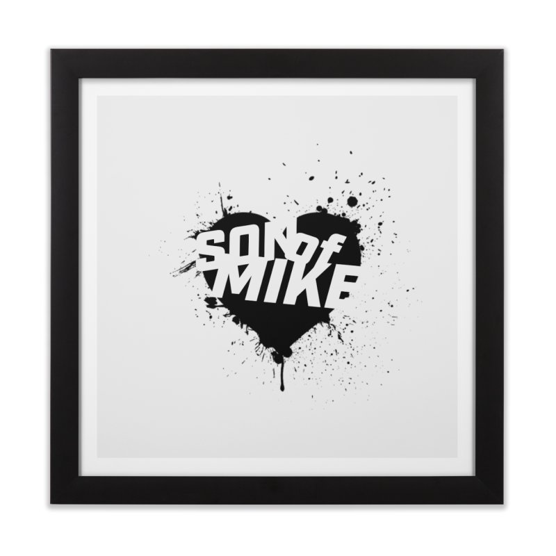 "Son of Mike ""HEART"" Home Framed Fine Art Print by Turkeylegsray's Artist Shop"