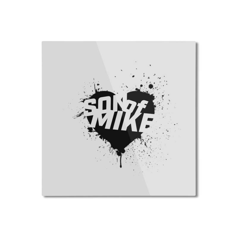 """Son of Mike """"HEART"""" Home Mounted Aluminum Print by Turkeylegsray's Artist Shop"""