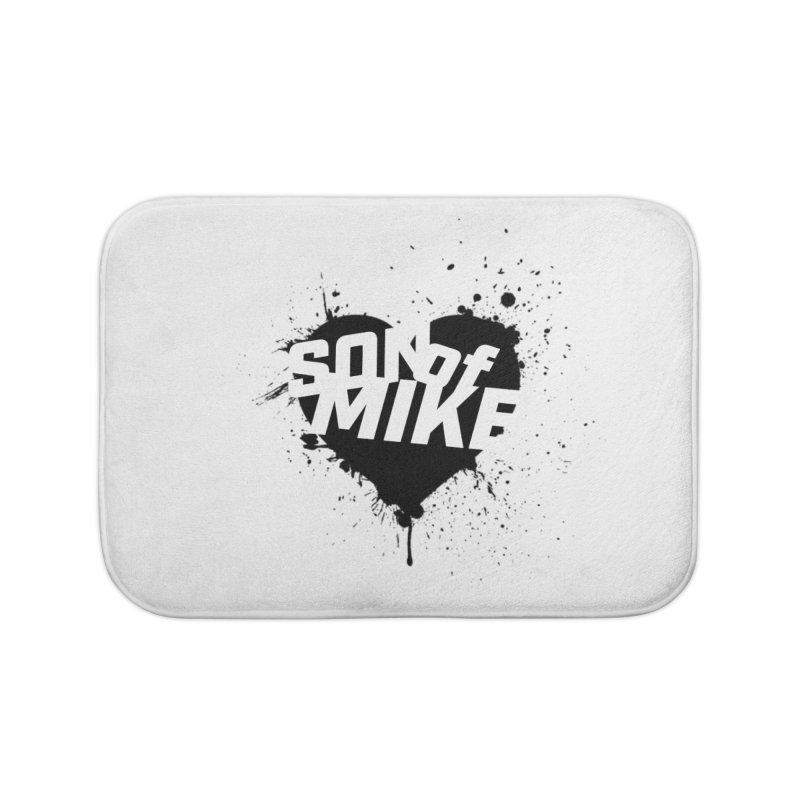 "Son of Mike ""HEART"" Home Bath Mat by Turkeylegsray's Artist Shop"