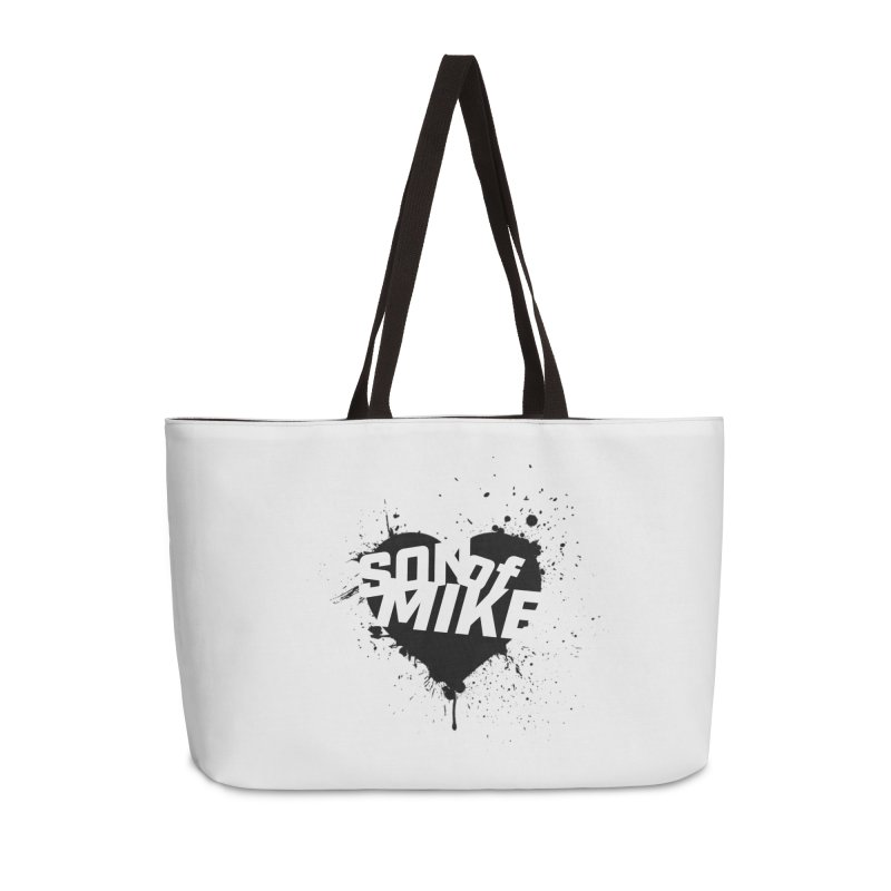 "Son of Mike ""HEART"" Accessories Weekender Bag Bag by Turkeylegsray's Artist Shop"