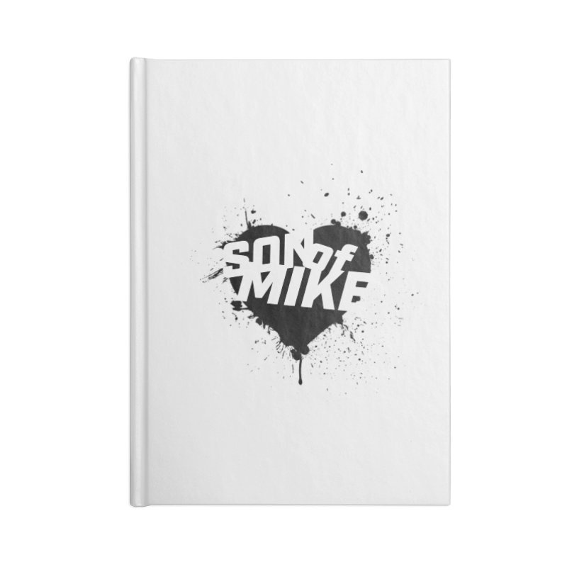 "Son of Mike ""HEART"" Accessories Blank Journal Notebook by Turkeylegsray's Artist Shop"