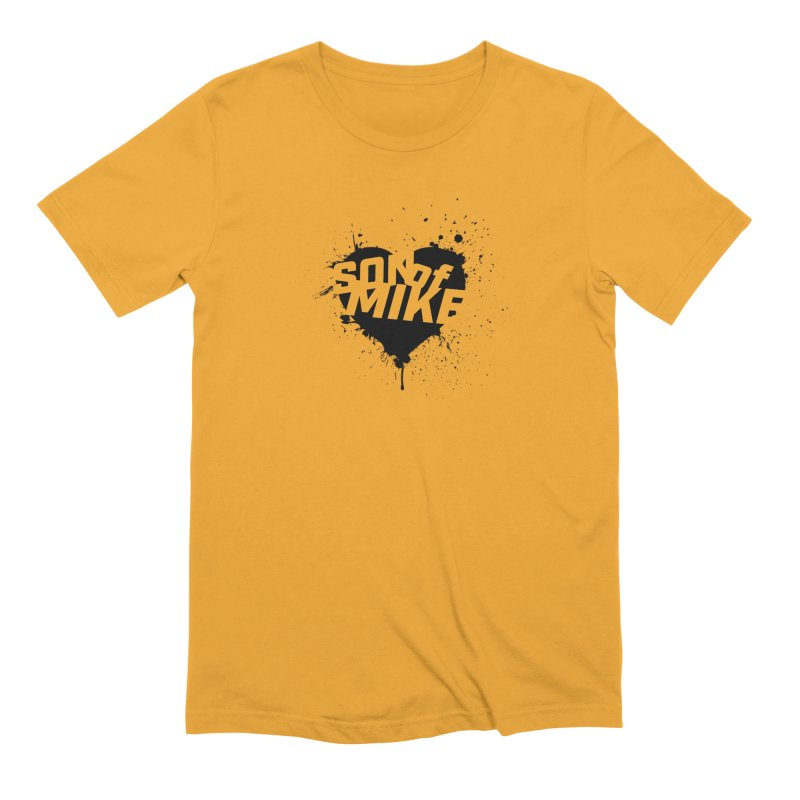 """Son of Mike """"HEART"""" Men's Extra Soft T-Shirt by Turkeylegsray's Artist Shop"""