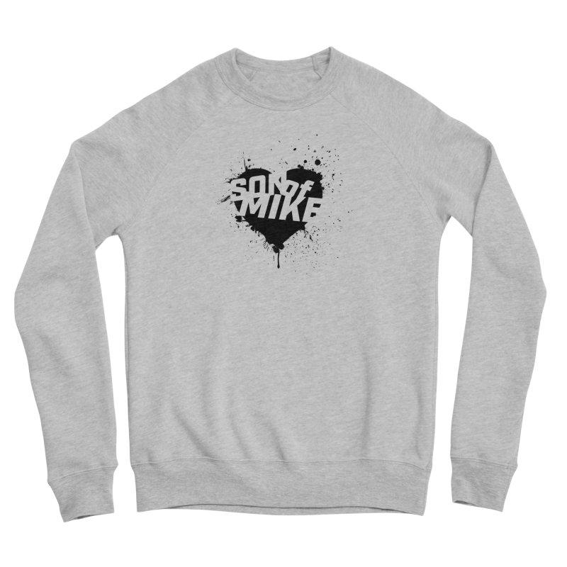 """Son of Mike """"HEART"""" Men's Sponge Fleece Sweatshirt by Turkeylegsray's Artist Shop"""