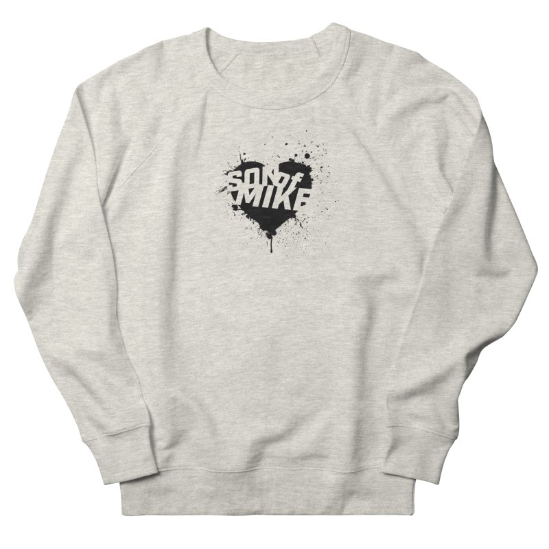 "Son of Mike ""HEART"" Women's French Terry Sweatshirt by Turkeylegsray's Artist Shop"