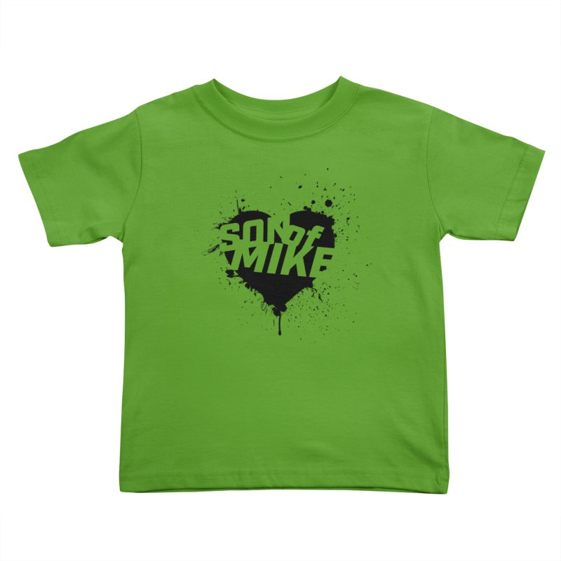 """Son of Mike """"HEART"""" Kids Toddler T-Shirt by Turkeylegsray's Artist Shop"""