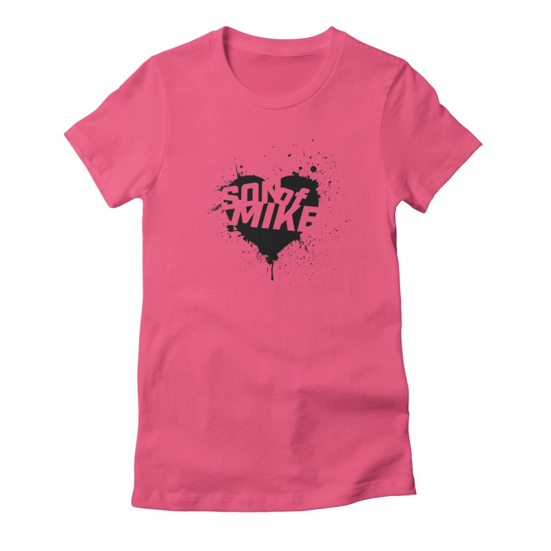 """Son of Mike """"HEART"""" Women's Fitted T-Shirt by Turkeylegsray's Artist Shop"""