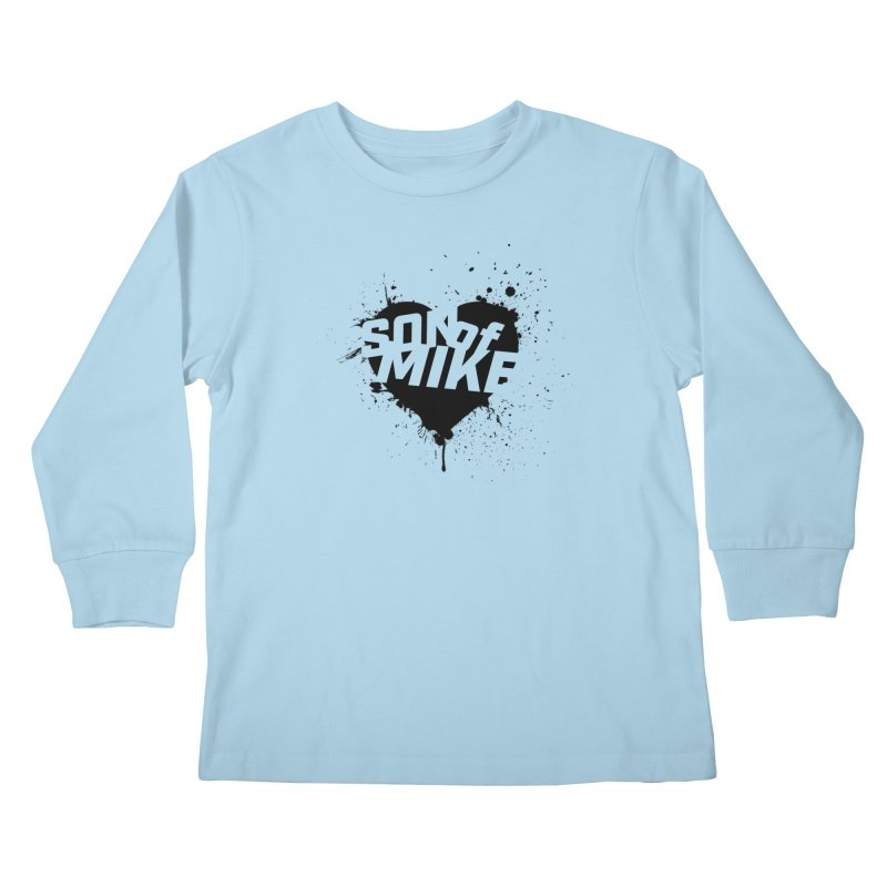 "Son of Mike ""HEART"" Kids Longsleeve T-Shirt by Turkeylegsray's Artist Shop"
