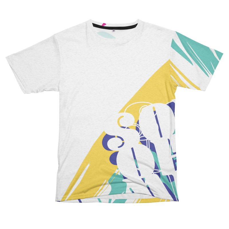 "Son of Mike ""Paint"" Men's French Terry T-Shirt Cut & Sew by Turkeylegsray's Artist Shop"