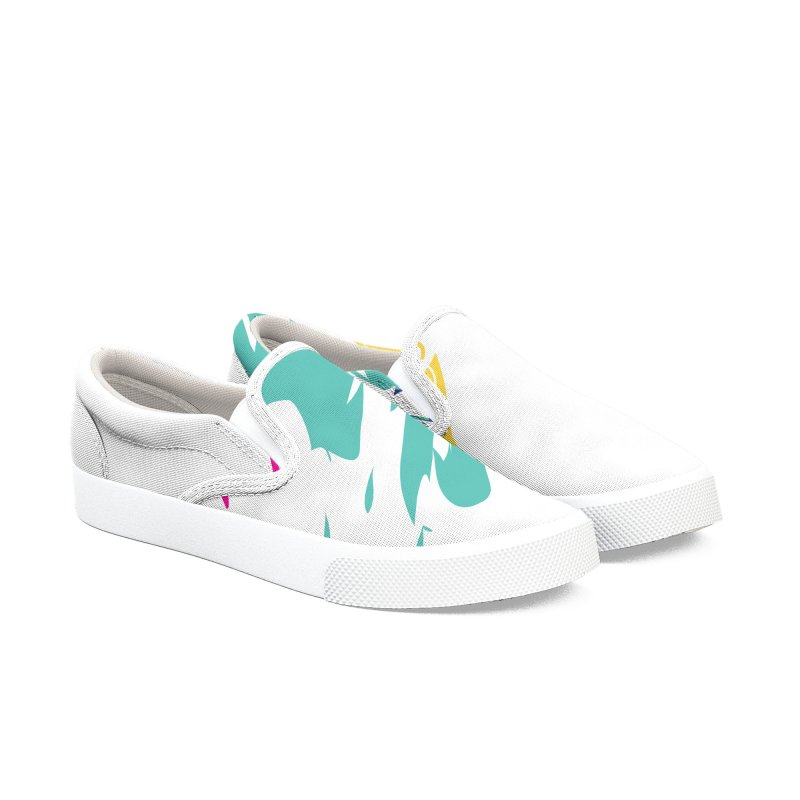 "Son of Mike ""Paint"" Women's Slip-On Shoes by Turkeylegsray's Artist Shop"